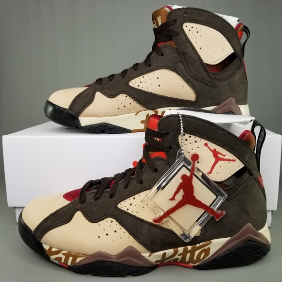 ddd77f1744b Nike Shoes | Air Jordan 7 Retro Patta Shimmer Mens 9 | Poshmark